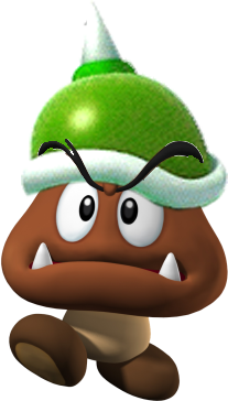 File:SpikeGoomba BW.png