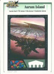Aurum island ar card