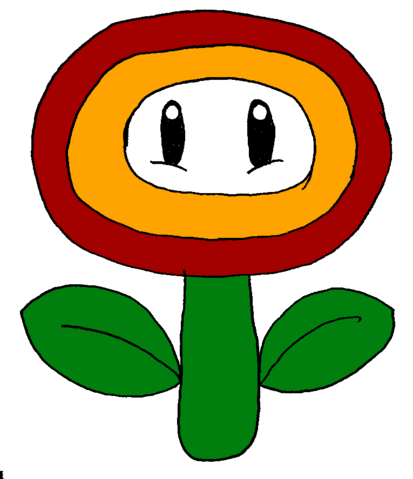 File:Giant Fire Flower.png