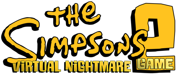 The Simpsons Game 2 - Virtual Nightmare logo