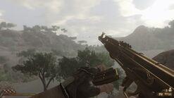 Golden AK-47 reloading