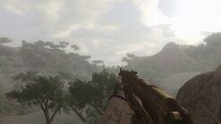 Golden AK-47 idle