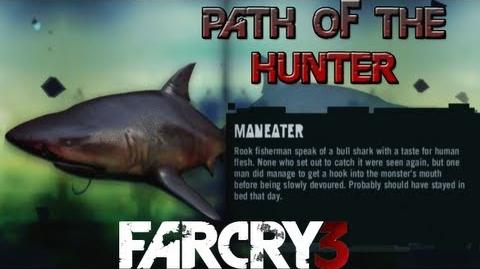 Far Cry 3 - Path of The Hunter Gameplay - Maneater Shark