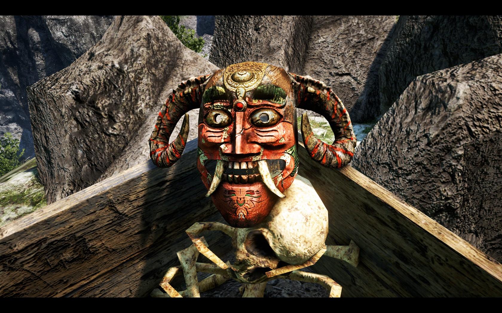 Masks Of Yalung Far Cry Wiki Fandom Powered By Wikia