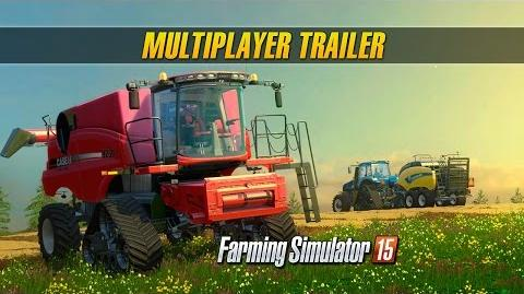 Farming Simulator 15 Consoles Multiplayer Trailer