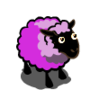 Grayish Lilac Purple Ewe-icon