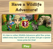 Wildlife Adventure Countdown Notification