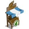 Organic Wheat Stall-icon