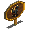 Morgan Stallion Mastery Sign-icon