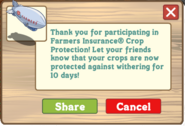 Farmer's Insurance Thanks