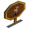 Brown Foal Mastery Sign-icon