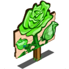 Green Rose Mastery Sign-icon