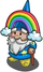 Rainbow Gnome-icon