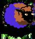Brown Han Purple Sheep-icon