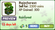 Rainforest Market Info (July 2012)