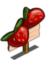 Strawberry Mastery Sign-icon