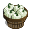 White Pumpkins Bushel-icon