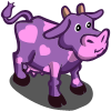 Purple Valentine Cow-icon