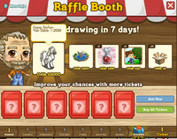 Raffle Booth Draw August 22 2011