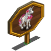 Aloha Unicorn Mastery Sign-icon