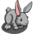 Gray Rabbit-icon
