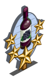 Blackberry Wine 5 Star Mastery Sign-icon