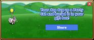 Party Cat Dogtreat Reward