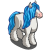Blue Mane Gypsy Horse-icon