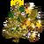 Big Golden Holiday Tree-icon