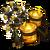 Big Halloween Candle Tree-icon