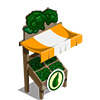 Organic Broccoli Stall-icon