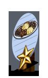 Elfin Chocolate 1 Star Mastery Sign-icon