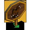 Arabian Stallion Mastery Sign-icon