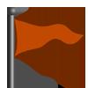 Orange Flag-icon