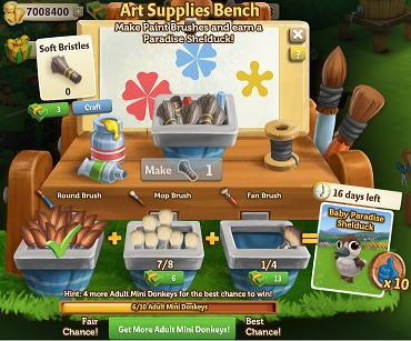 Art supplies bench farmville 2 wiki fandom powered by for Farmville 2 decorations
