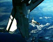 Shuttle farscape