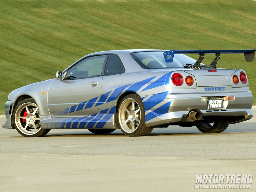 image - 1999 nissan skyline r34 gt-r - motor trend | the fast