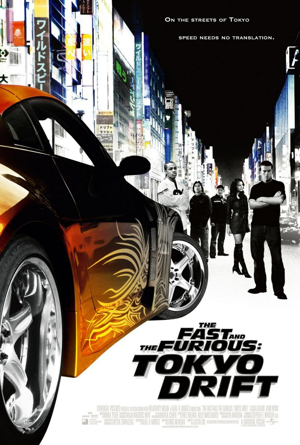 the fast and the furious tokyo drift the fast and the. Black Bedroom Furniture Sets. Home Design Ideas