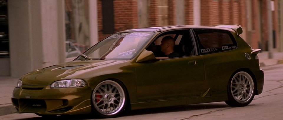 the fast and the furious honda civic