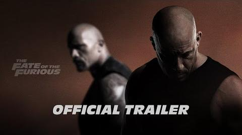 The Fate of the Furious - Official Trailer - F8 In Theaters April 14 (HD)
