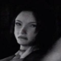 Tomoe looking back at Kirie