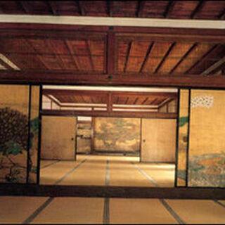 The mansion's hallway.