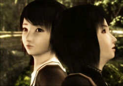 Mio and Mayu in forest2