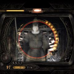 The new viewfinder mode in <i>Fatal Frame II Director's Cut</i>