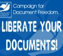 Campaign for Document Freedom