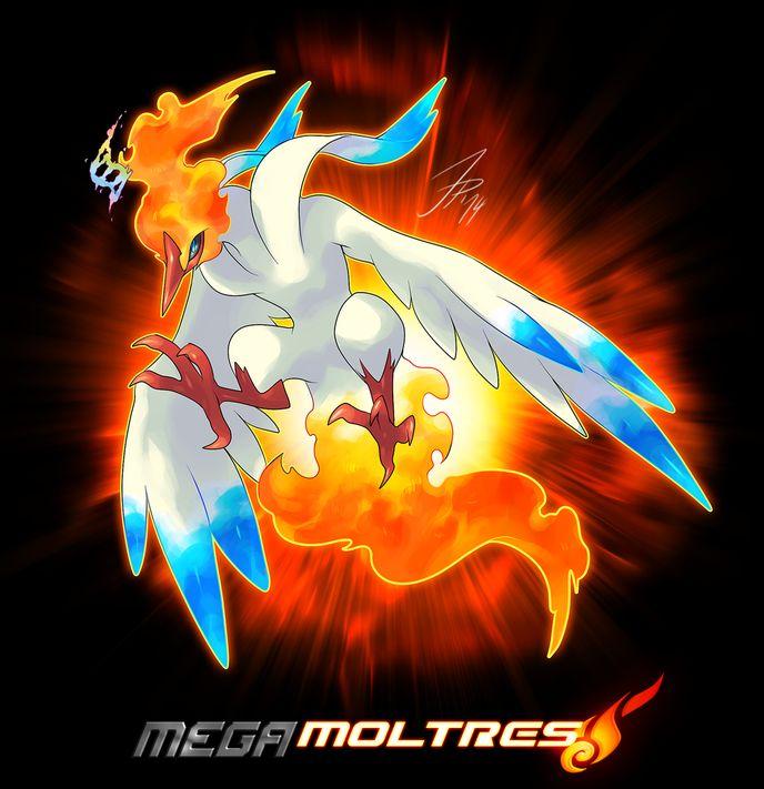 Mega Legendary Birds Mega Moltres | FC/OC V...