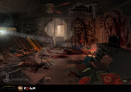 F.E.A.R. 3 concept of cultist home