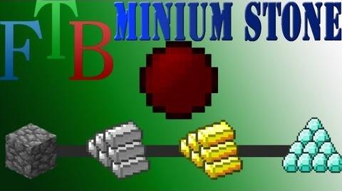 EE3 Minium Stone, turning stone to diamonds