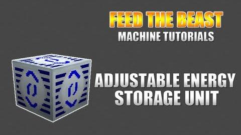 Feed The Beast Machine Tutorials Adjustable Energy Storage Unit