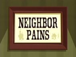 FHIF Title card - Neighbor Pains